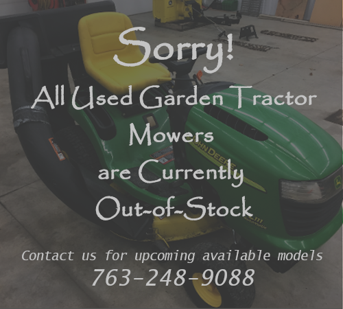 Out of Stock Garden Tractors